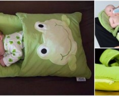 baby pillowcase sleeping bag DIY