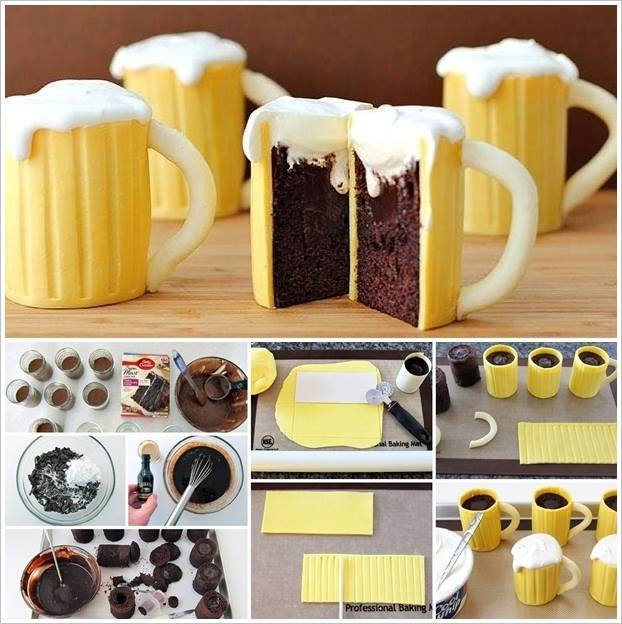 beer-mug-cupcakes-with-baileys-filling 2