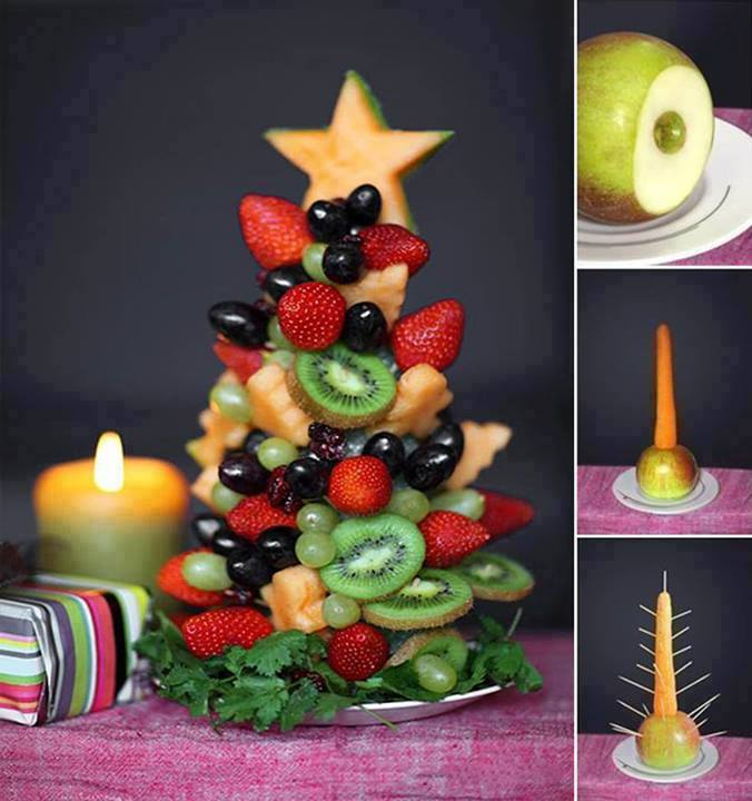 Edible Christmas Tree Platter