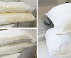 how to wash and whiten-yellowed-pillows