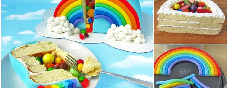 16 Rainbow Cake Recipes and Tutorials