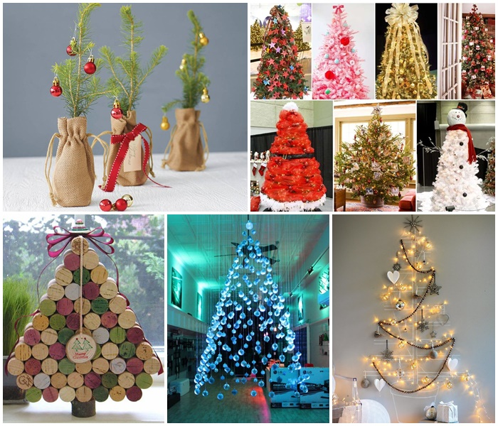 20 Unique DIY Christmas Tree Ideas And Projects