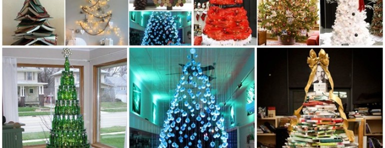 20+ Unique DIY Christmas Tree Ideas You will Love