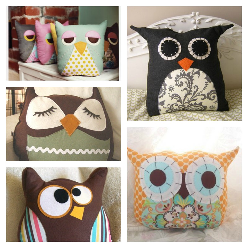 Adorable DIY Owl Pillow Tutorial | BeesDIY.com