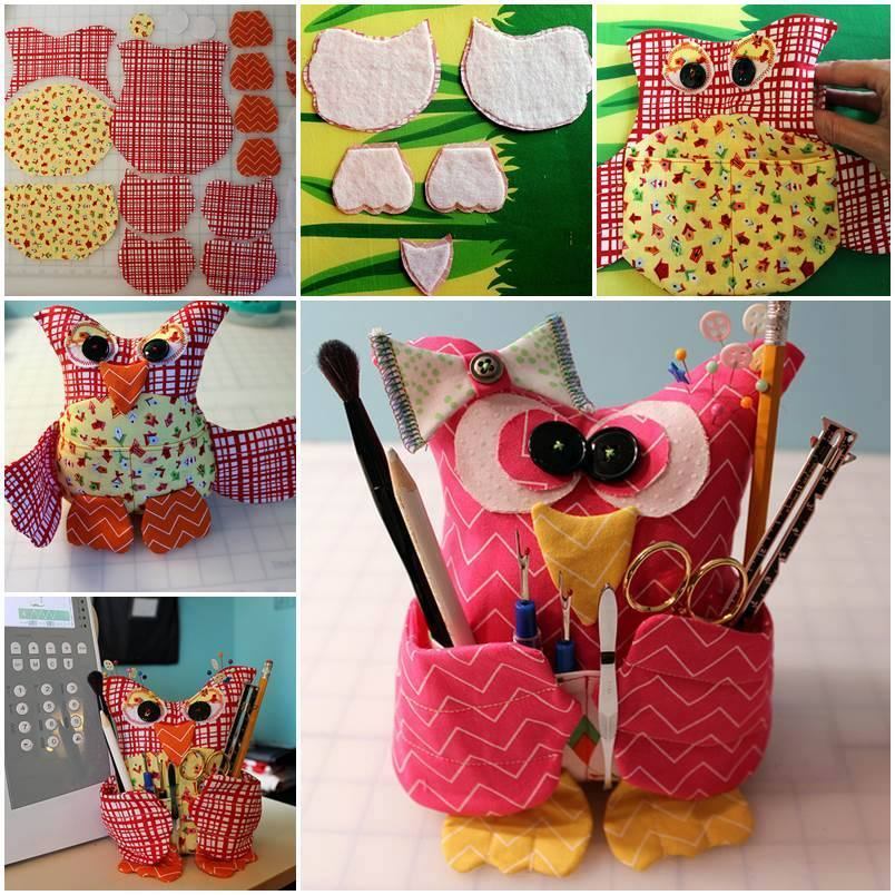Adorable DIY Owl Sewing Buddy Tutorial