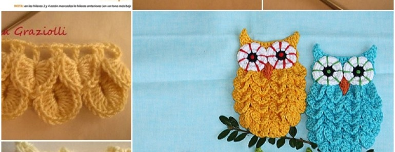 Crochet Owl Pattern — Crocodile Stitch (FREE)