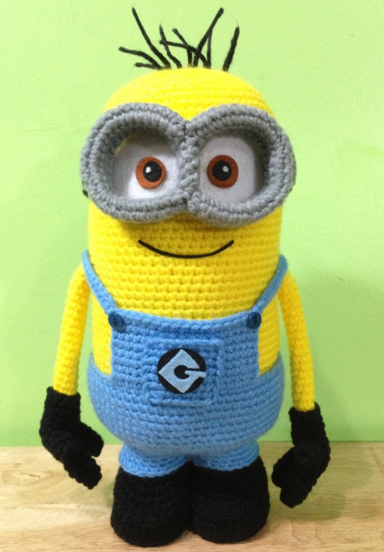 Crochet Minion-FREE- Patterns-2