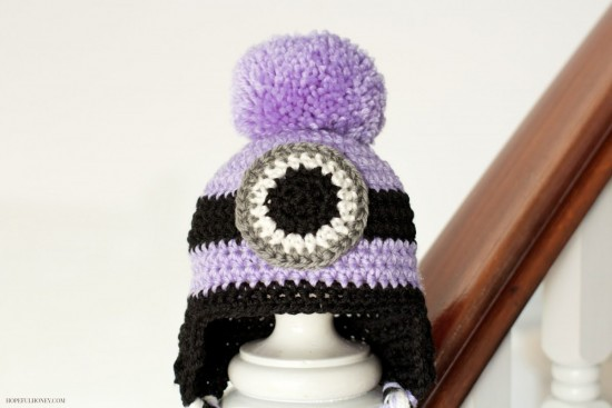 Crochet Minion-Hat-Free Pattern