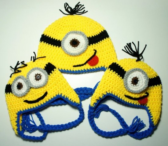 Crochet Minion-Hat-Free- Patterns