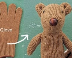 DIY Chipmunk Softy From Glove