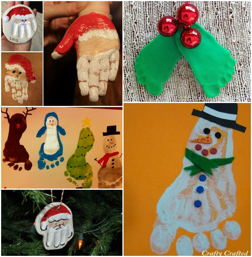 DIY-Christmas-HandPrint-and-FootPrint-Art