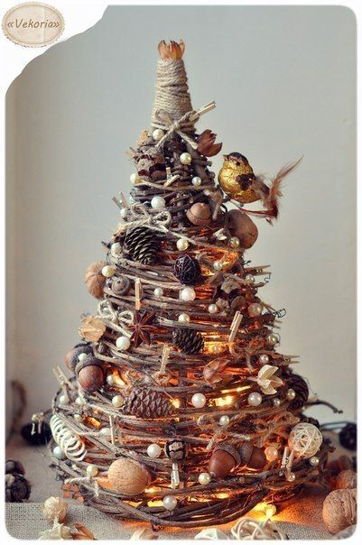 DIY Christmas-Tree-from-Tree-Branches 3