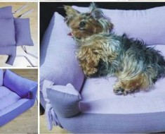 DIY couch pet bed tutorial