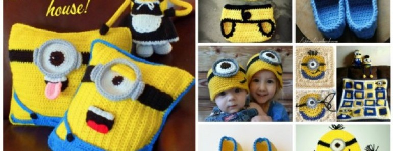 10+ Super Cute Crochet Minion Patterns