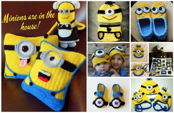 10 super cute crochet minion patterns beesdiy diy cute crochet minion patterns dt1010fo