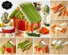 DIY Edible Veggie House