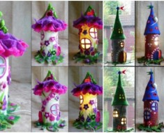 DIY Fantastic Paper Roll Fairy House