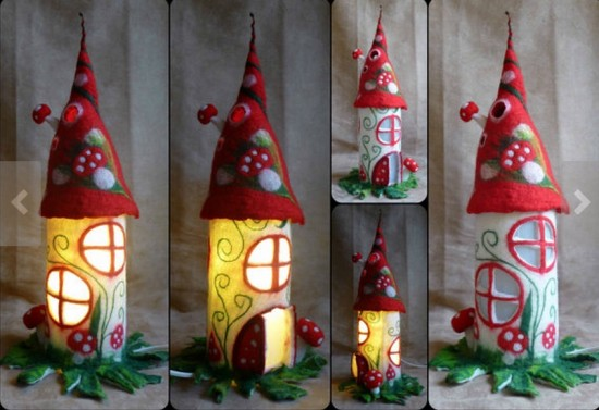 Diy Fantastic Paper Roll Fairy House Beesdiy Com