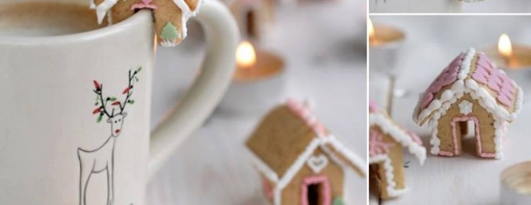 Mini Gingerbread Houses Recipe  – Christmas DIY