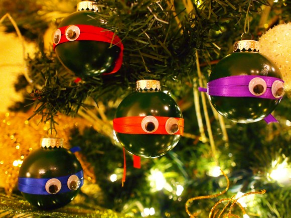 DIY Ninja Turtle Ornaments2