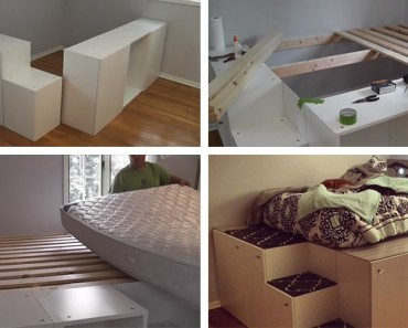 DIY-Platform-Bed-from-IKEA-Kitchen-Cabinets