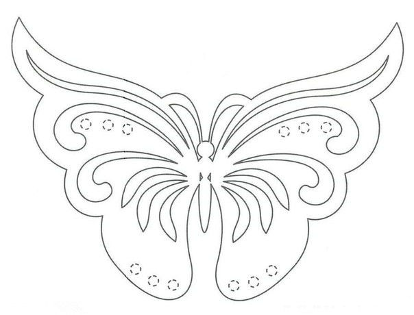 butterfly stencil for kids