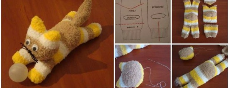 Cute DIY Sock Kittens Tutorial