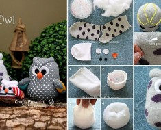 DIY-Sock-Owl Tutorial