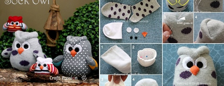 DIY Adorable Sock Owl Tutorial