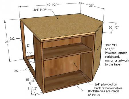 DIY Space Saving Corner Twin Beds Set1