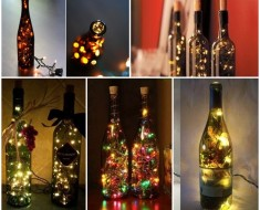 Stunning Wine Bottle Light DIY Tutorial