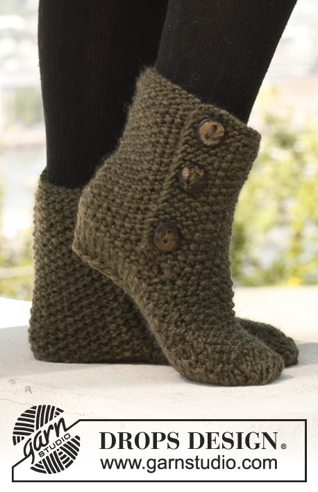 FREE Knitted & Crochet Slipper Boots Patterns