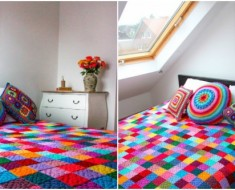 Granny Square Blanket Tutorial
