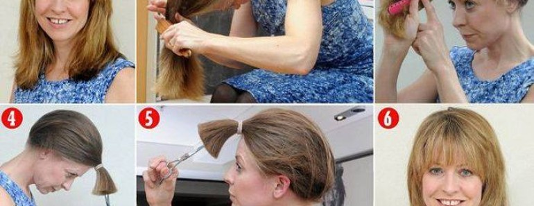 How to Cut Your Own Hair at Home Easily