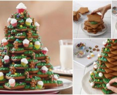How to DIY 3D Christmas-Tree-Cookies