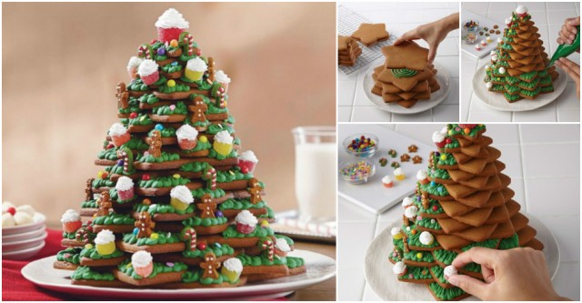 How To Make 3d Christmas Tree Cookies Beesdiy Com