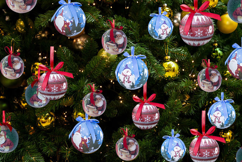 Plastic Christmas Ornament Balls