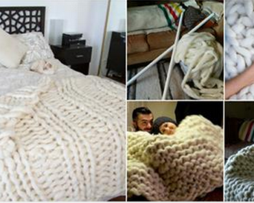 How to Knit Giant Blanket with PVC Pipes