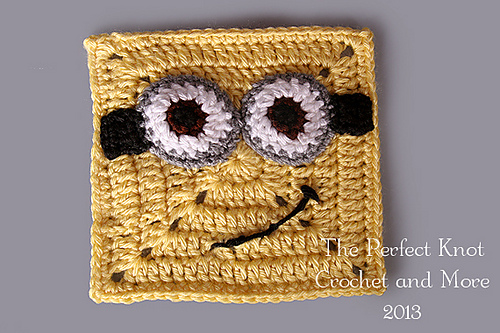 10+ Super Cute Crochet Minion Patterns | BeesDIY.com