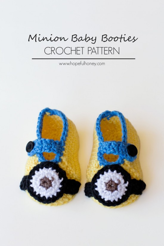Minion-Inspired-Baby-Booties-Crochet-Pattern