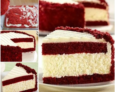 Red-Velvet-Cheesecake recipe