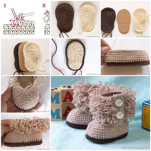 UGG Style Crochet Booties Tutorial