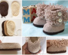http://www.ravelry.com/patterns/library/ugg-style-baby-booties-3-6mo-size