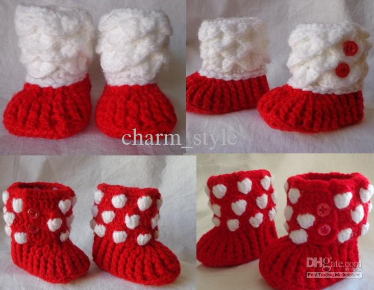 crochet Crocodile-Stitch Booties