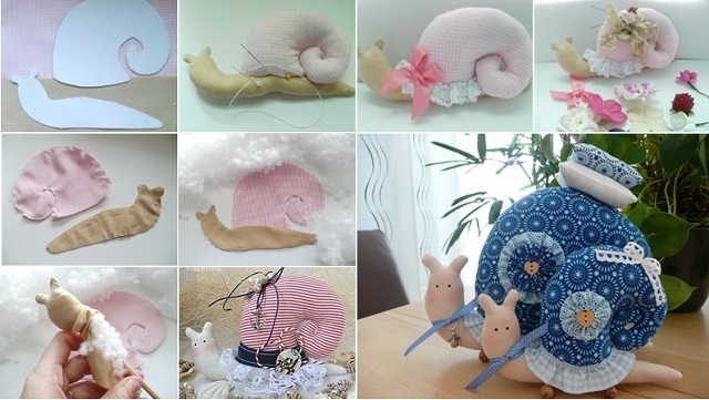 diy-snail-pillow