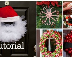 20 Festive Christmas Wreaths You Can DIY Easily