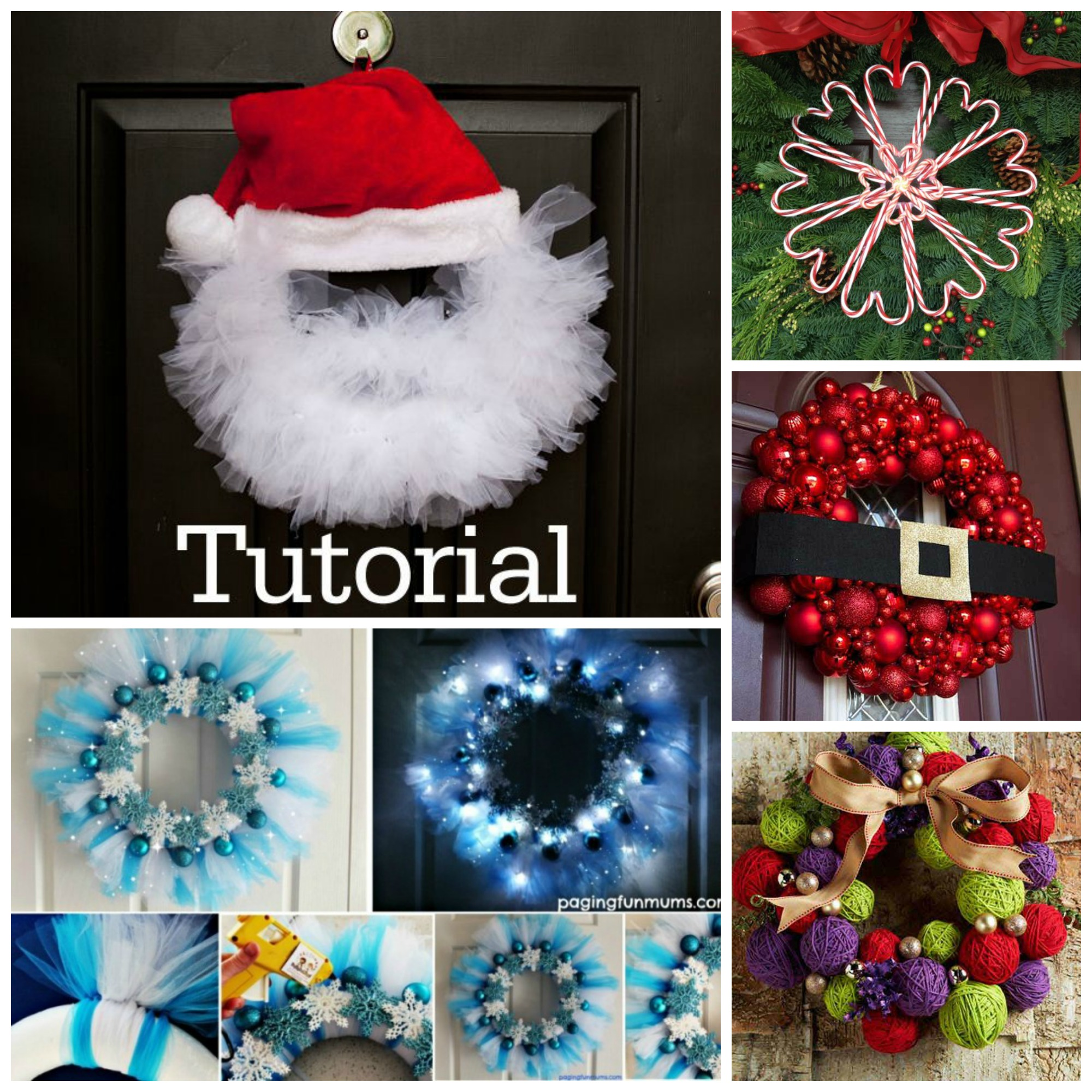 20 diy christmas wreath projects beesdiy
