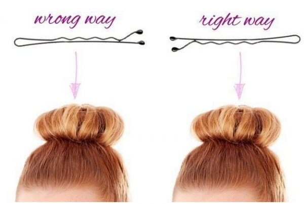 Hairstyle Hacks - 20 Fabulous Ways to Use Bobby Pins-0