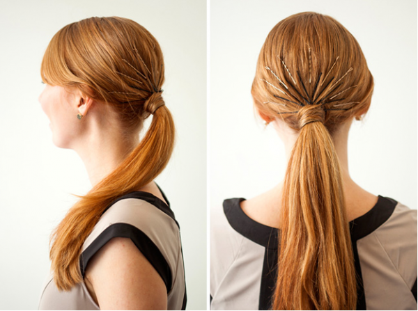 Hairstyle Hacks - 20 Fabulous Ways to Use Bobby Pins4