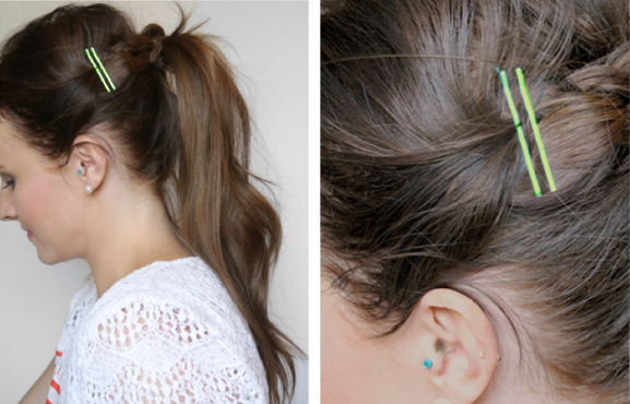 Hairstyle Hacks - 20 Fabulous Ways to Use Bobby Pins6